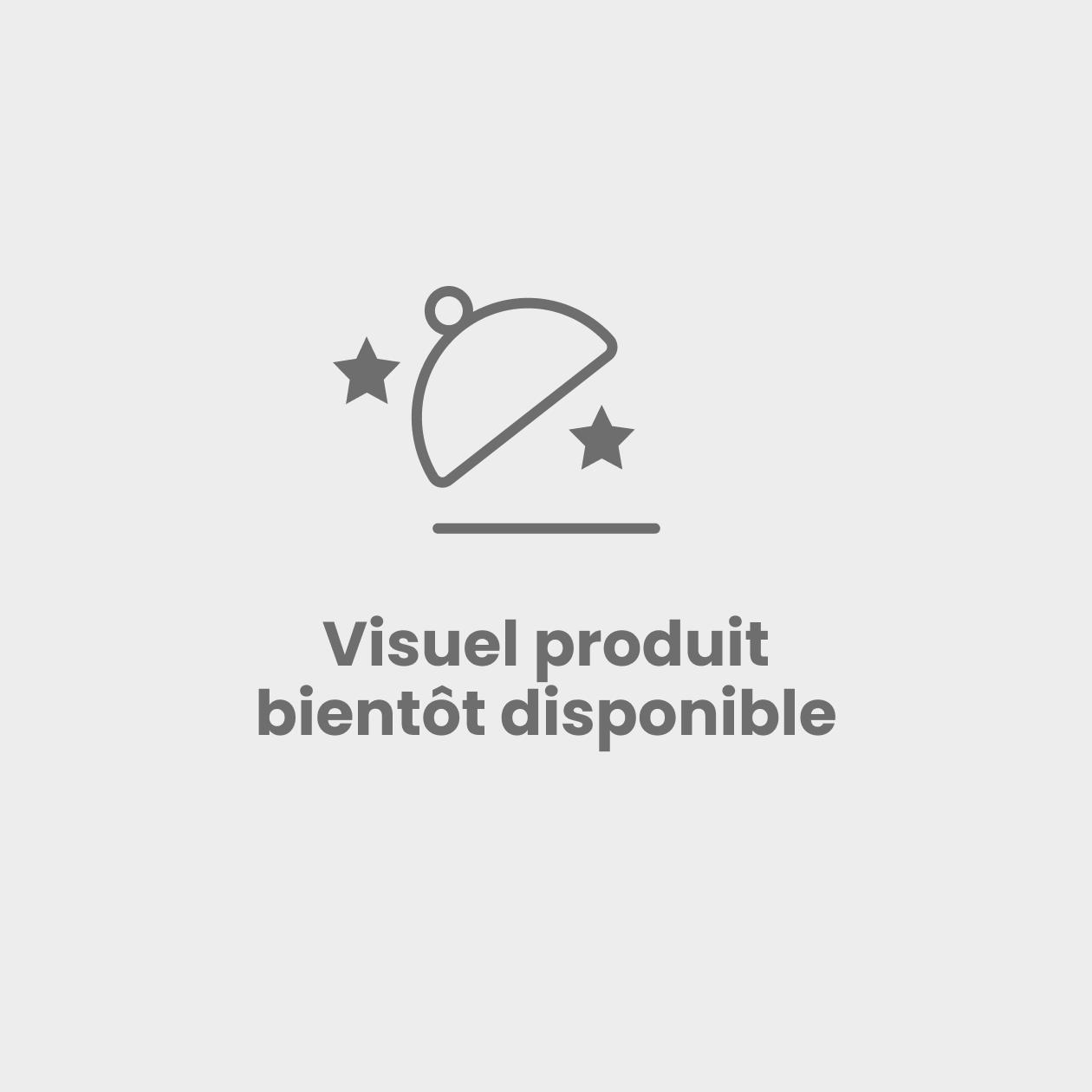 Scintillant chocolat demi cadre 24 parts