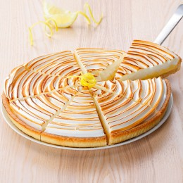 Tarte citron meringuée 8 parts
